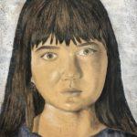 Andrea H. - Self Portrait, Mixed Media