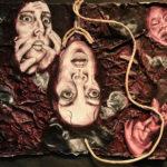 Arabella B. - Tokophobia, Mixed Media