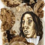 Arabella B. -  caf·fein·at·ed, Mixed Media