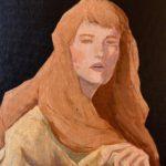 *Ashley C. - Oil Painting, Oil