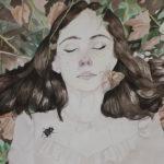 Enid S. - Natural Death, Watercolor