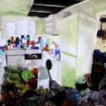 Fiona L. - Horder's Kitchen, Mixed Media