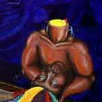 *Gabrielle F. - Human Experience, Acrylic Paint