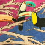 Jonathan G. - Toucans, Colored Pencil