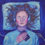 *Josh S. -  Rest, Acrylic Paint