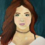 Kiele F. - Larissa, Acrylic Paint