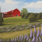Lady Who Paints Landscapes, Acrylic Grade 11 East Lansing High SchoolArt Teacher: Robin Remer-Saenz