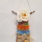 Maria M. - Spring Weaving, Fiber