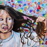 Tesnim S. - Popped, Acrylic Paint