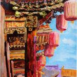 Xiaohan (Caroline) Z. -  The Heyday of the Forbidden City, Mixed Media