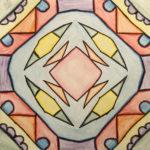 Cassy B. Gr. 6 - Radial Symmetry, Marker, Color Pencil