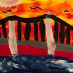 Madison T. Gr. 3 - Untitled, Tempera