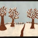 Ayden F. Gr. 4 - Winter Landscape, Tempera