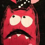 Averi J. Gr. 1 - Love Monster, Paper Collage