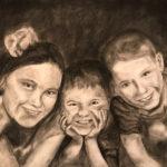Regina, M Gr. 12 - Siblings, Charcoal