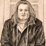 Cameron S. Gr. 12 - Self Portrait, Graphite