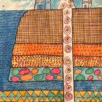Talajah S. Gr. 6 - Geoscape, Watercolor, Pen