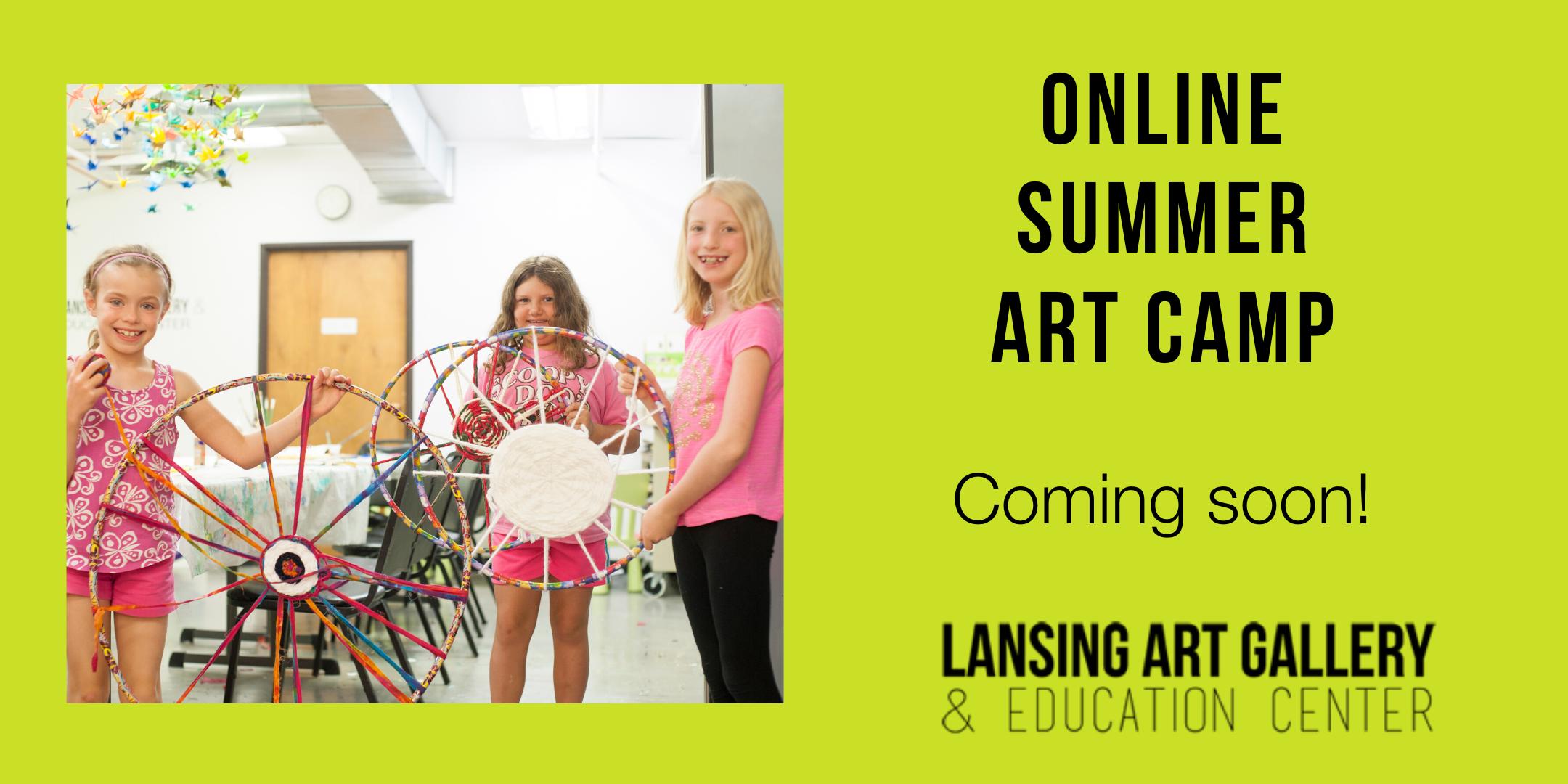 June 15 2020 Summer Art Camp