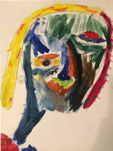 "Paint Like Picasson ""Rosie"""