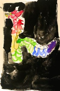 """World Fabric Inspiration, China """"Chinese Dragon"""""""