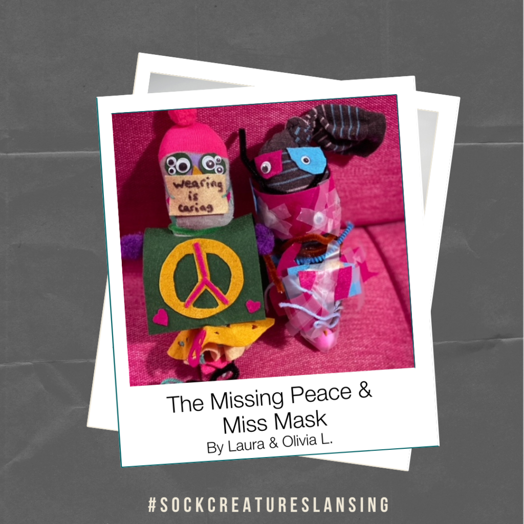 """The Missing Piece & Miss Mask"" By Laura & Olivia L."