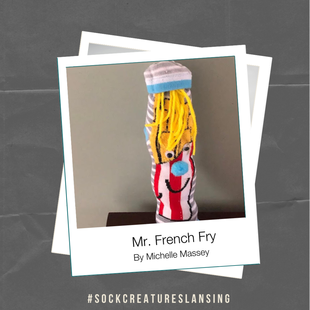 Mr. French Fry By Michelle Massey